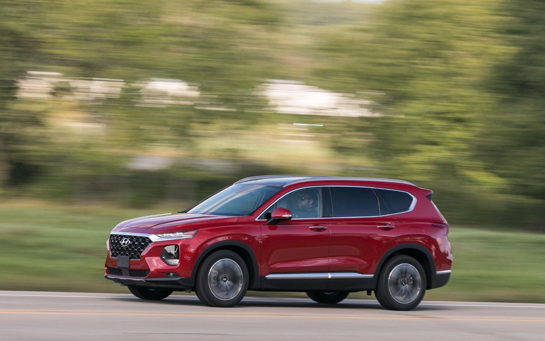 Comparison - Hyundai Santa Fe Se Ultimate 2019 - Vs