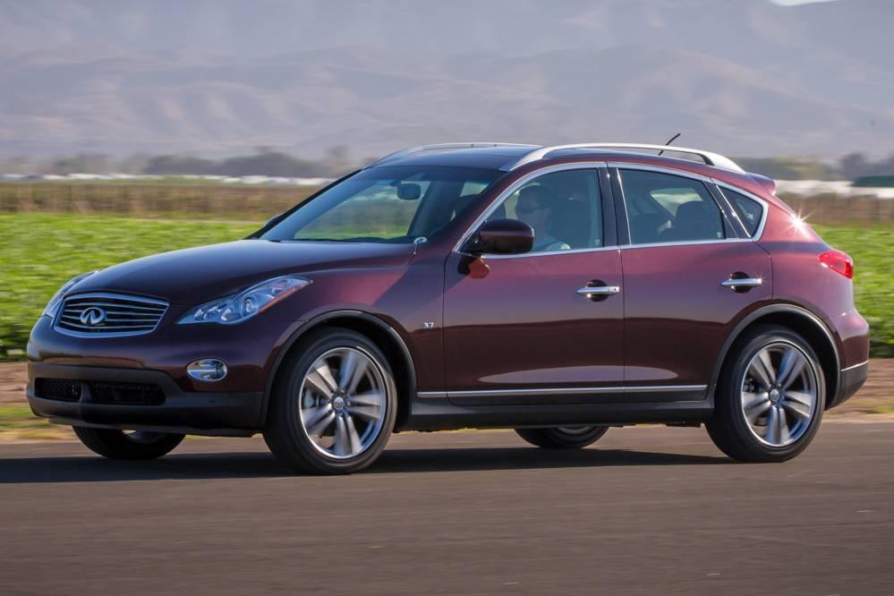 Comparison Infiniti Qx50 Journey2015 Vs Nissan Rogue