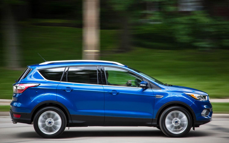 comparison ford escape sel   vauxhall grandland   suv drive