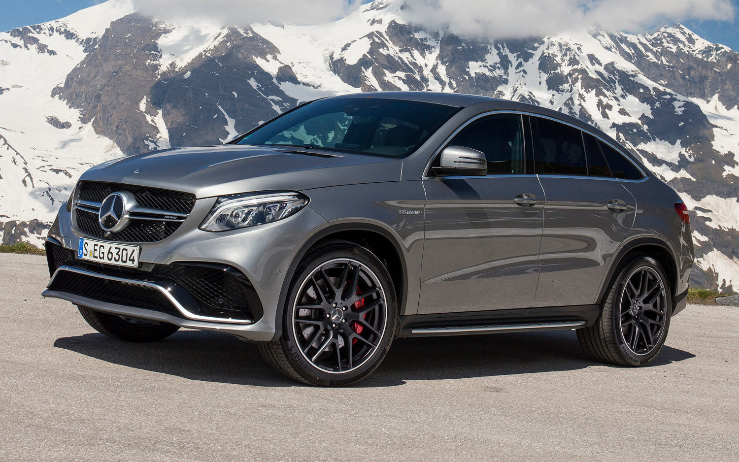 Mercedes Benz Gle Class Coupe Amg 63 S 4matic 2017 Suv Drive