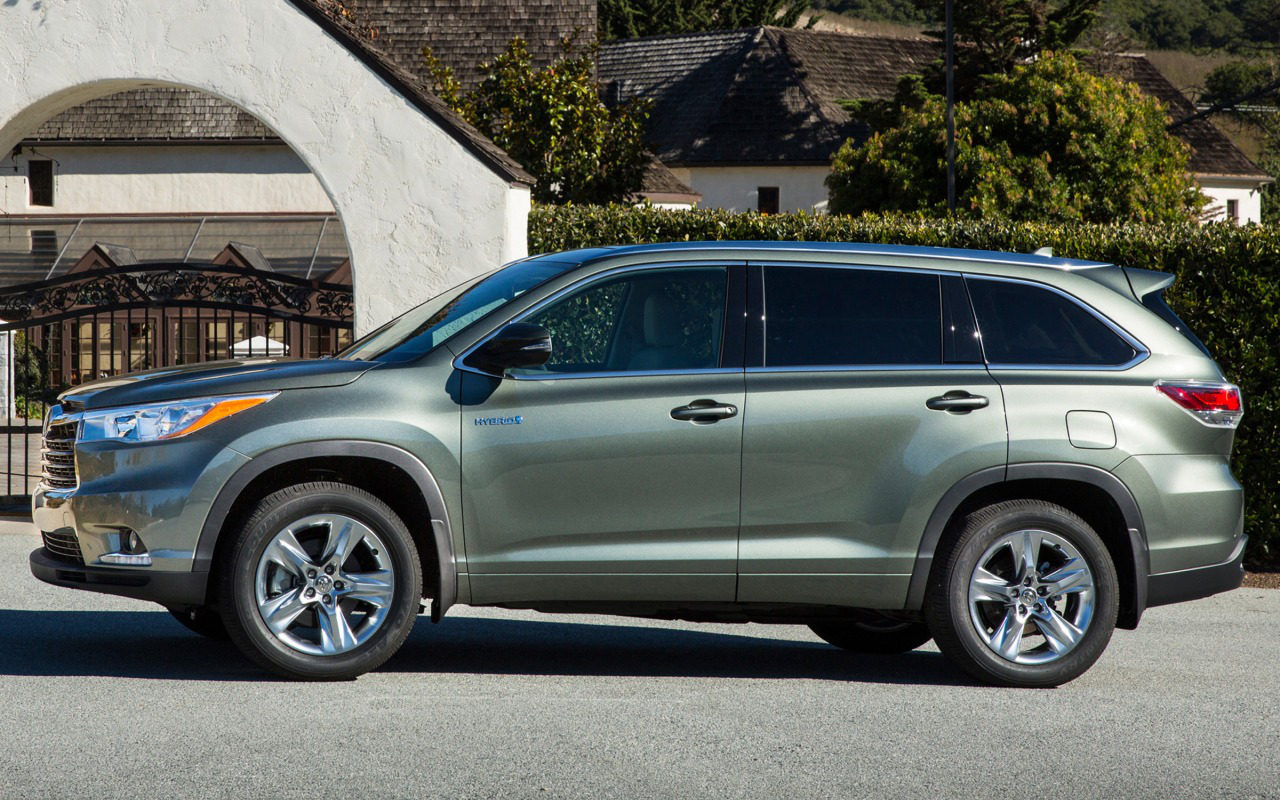 Comparison Toyota Highlander Limited 2016 Vs Land