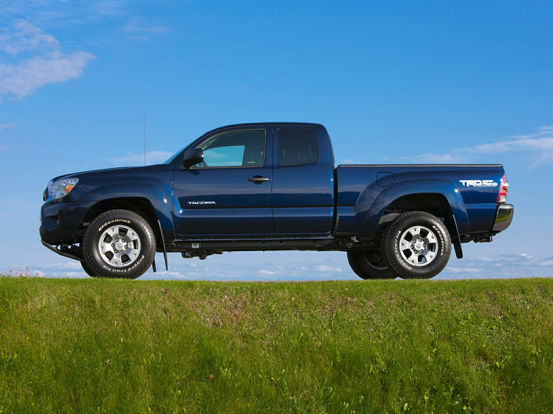 Toyota Tacoma Towing Capacity >> Toyota Tacoma Regular-cab Base 2014 | SUV Drive