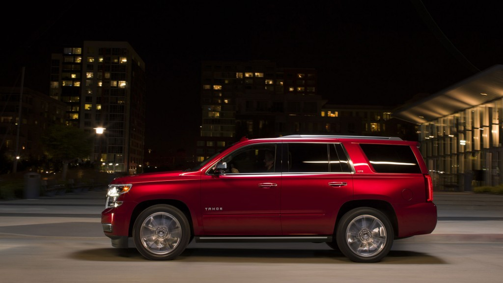 Comparison - Chevrolet Tahoe 2016 - vs - GMC Acadia Denali ...