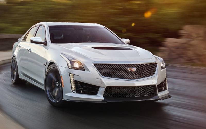 Cadillac CTS-V 2019   SUV Drive