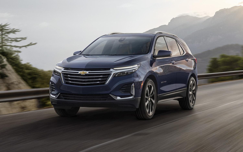 Comparison - Chevrolet Equinox Premier 2021 - vs ...