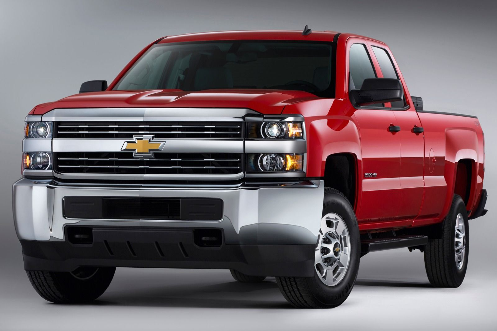 Comparison - Chevrolet Silverado 3500HD Double Cab LTZ ...
