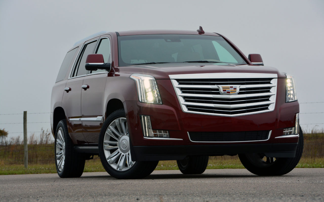Comparison Cadillac Escalade Luxury 2017 Vs Land