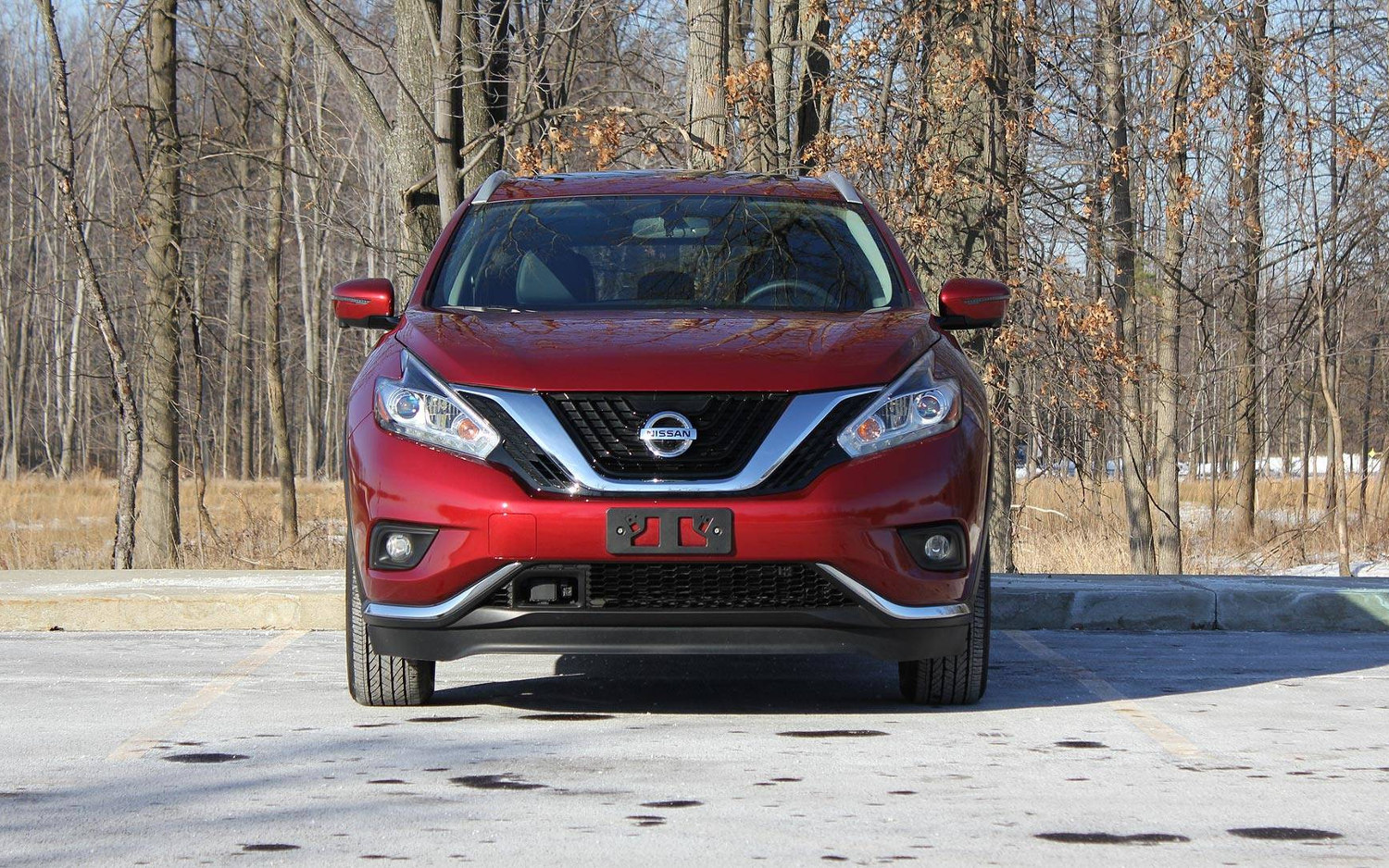 Front View Nissan Murano Platinum on Car Model Names