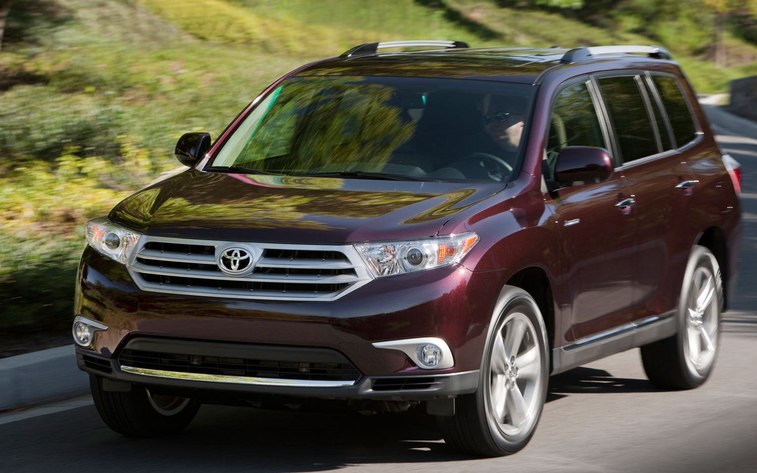 front view Toyota Highlander Hybrid Limited 2016 toyota highlander hybrid limited 2016 suv drive  at eliteediting.co