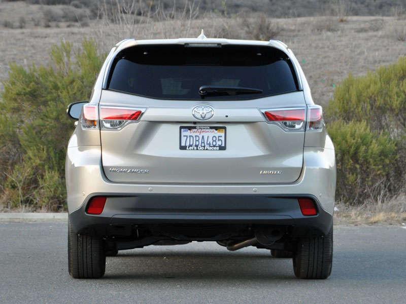 Pilot Vs Highlander >> Toyota Highlander Limited Platinum 2015 | SUV Drive
