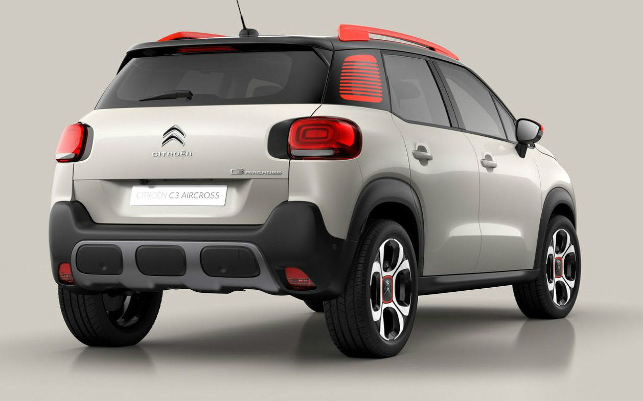 Comparison Citroen C3 Aircross 2018 Vs Kia Sportage
