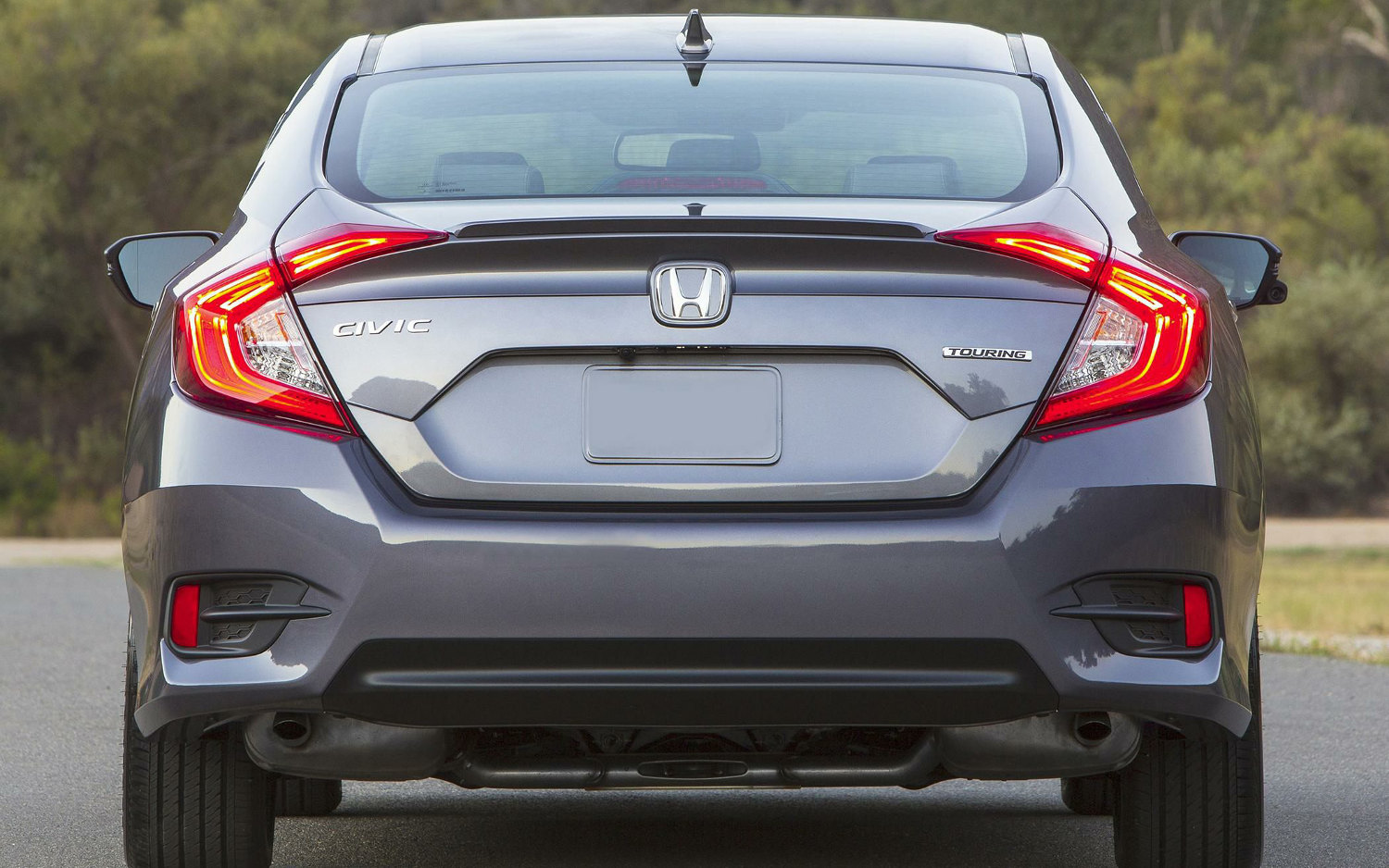 Difference Between Coupe And Sedan >> Comparison - Honda Civic Touring 2018 - vs - Subaru ...