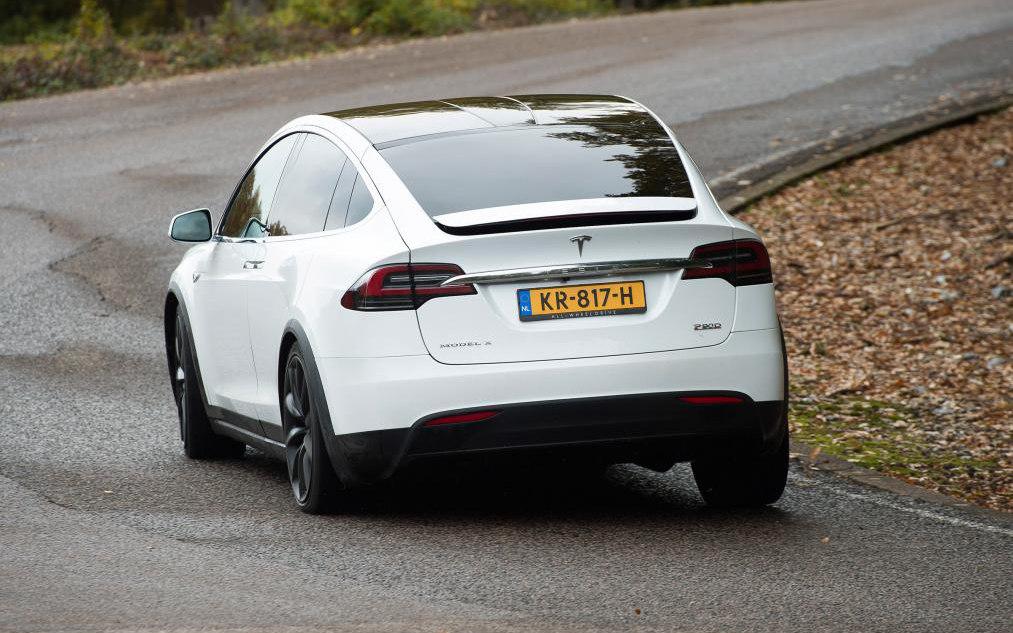 Tesla Model X P100d 2018 Suv Drive