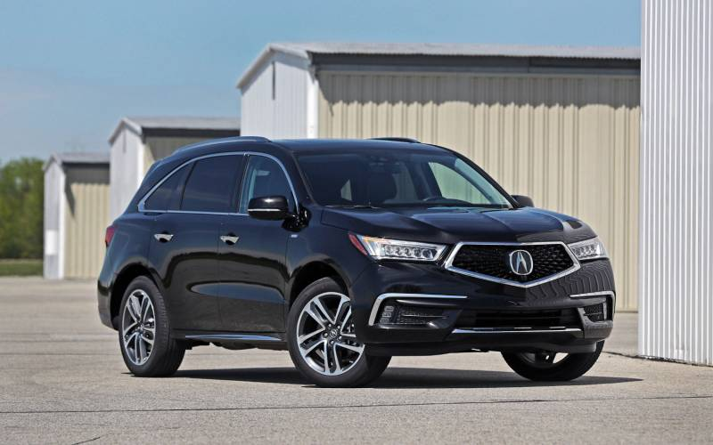 comparison acura mdx technology package 2018 vs infiniti qx80 limited 2017 suv drive. Black Bedroom Furniture Sets. Home Design Ideas