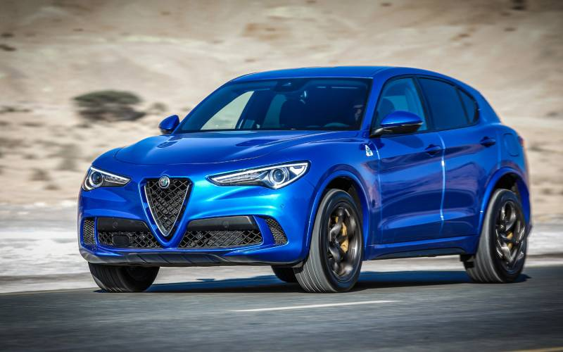 alfa romeo stelvio quadrifoglio 2018 suv drive. Black Bedroom Furniture Sets. Home Design Ideas