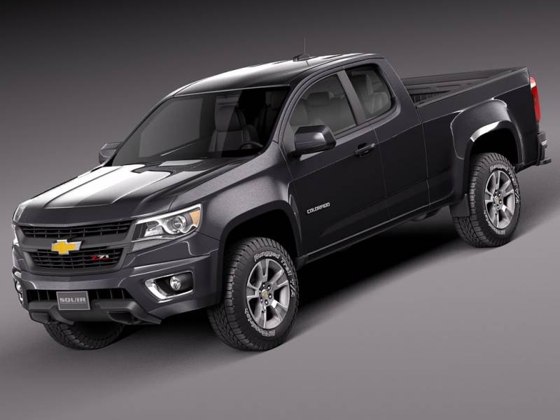 Chevrolet Colorado Extended Cab Base 2015   SUV Drive