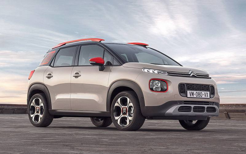 citroen c3 aircross flair 2018 suv drive. Black Bedroom Furniture Sets. Home Design Ideas