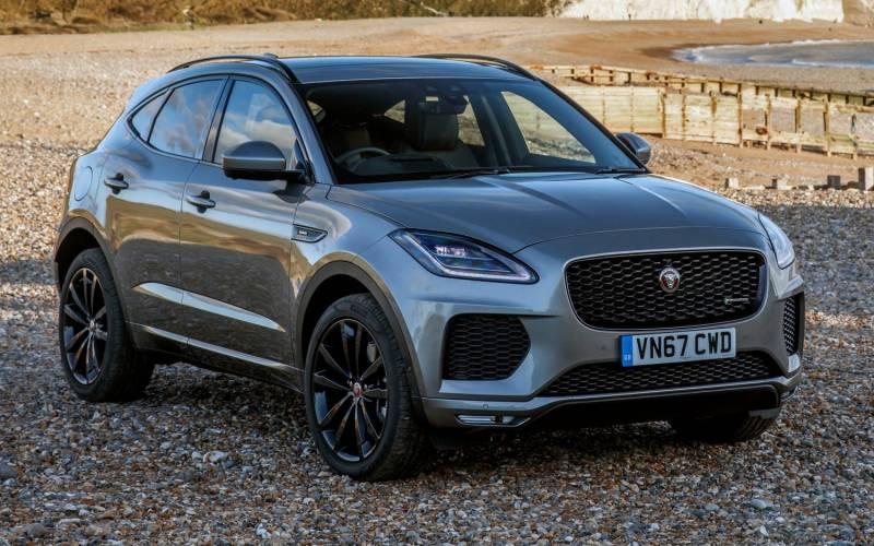comparison jaguar e pace r dynamic hse 2018 vs lexus nx 300 f sport 2018 suv drive. Black Bedroom Furniture Sets. Home Design Ideas