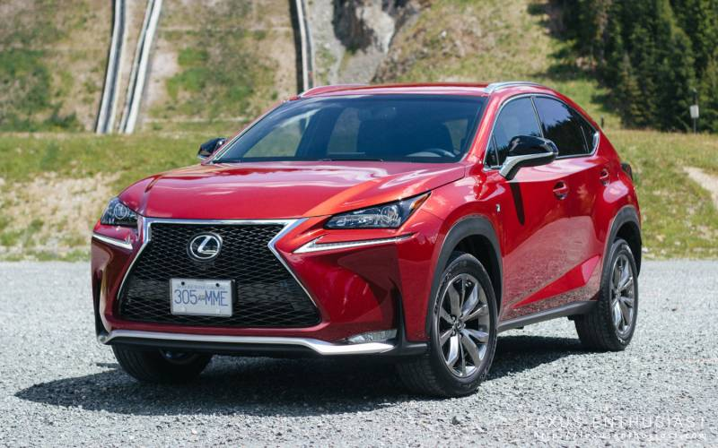comparison lexus nx 200t f sport 2017 vs toyota chr 2018 suv drive. Black Bedroom Furniture Sets. Home Design Ideas
