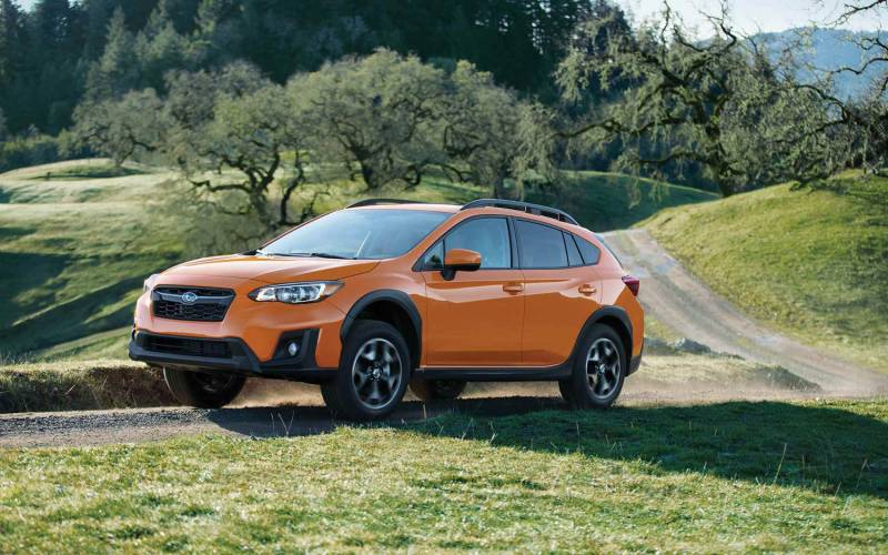 comparison subaru crosstrek limited 2018 vs seat. Black Bedroom Furniture Sets. Home Design Ideas