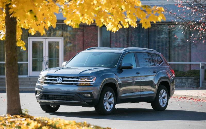 Comparison Honda Pilot Ex L 2017 Vs Volkswagen Atlas