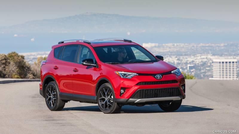 Comparison Toyota Rav4 Limited 2016 Vs Toyota Chr
