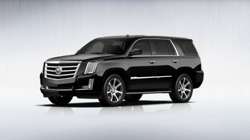 Comparison - Cadillac Escalade ESV Luxury 2016 - vs ...