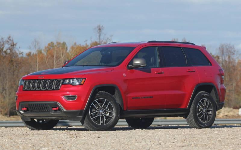 Comparison Jeep Grand Cherokee Trailhawk 2017 Vs Volkswagen Tiguan Sel