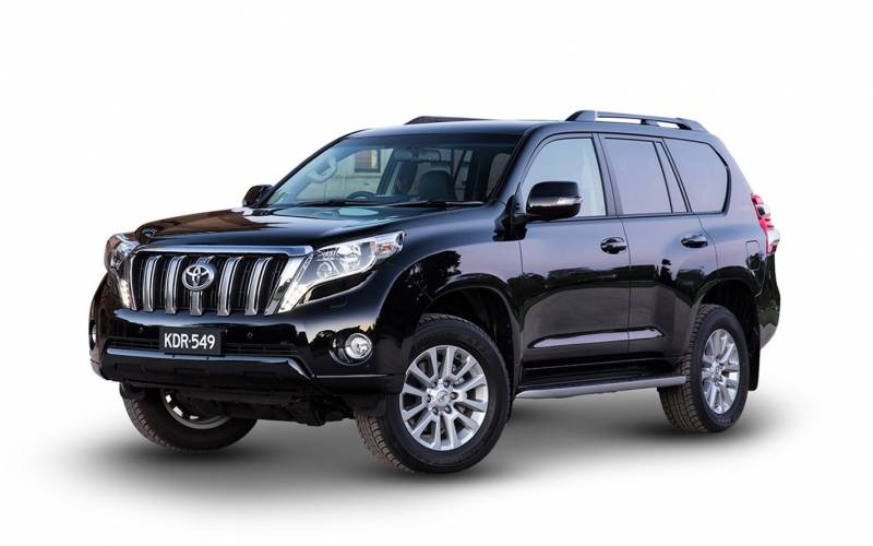 Toyota Suv Names >> Comparison - Toyota Land Cruiser Prado GX 2017 - vs - Chevrolet Traverse 2016 | SUV Drive