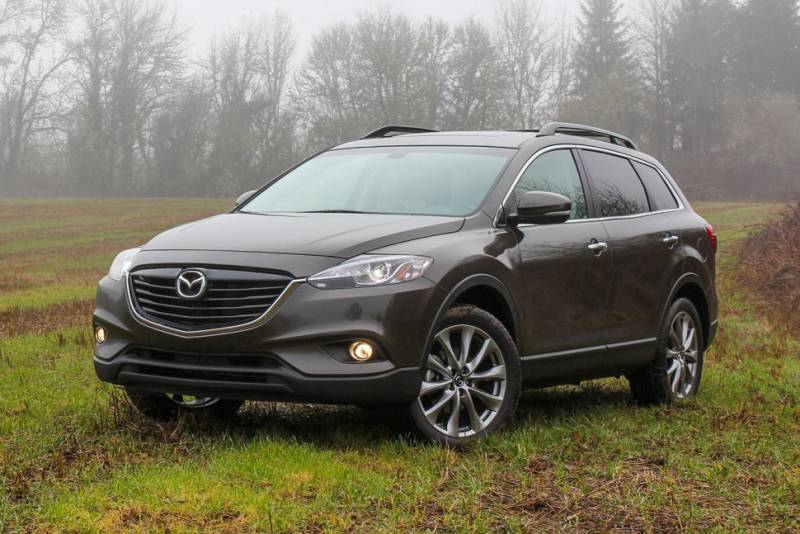 Mazda Cx 9 Grand Touring 2015 Suv Drive