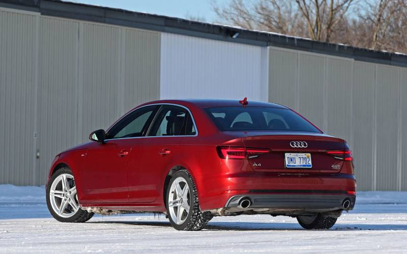 2018 audi a4 manual transmission review