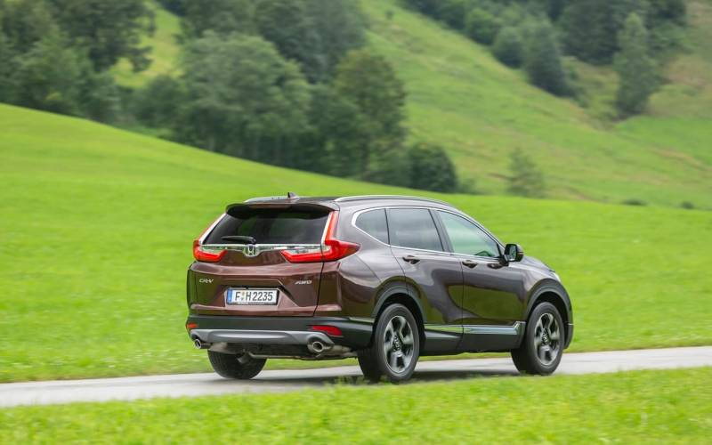 Honda Cr V Ex 2019 Suv Drive