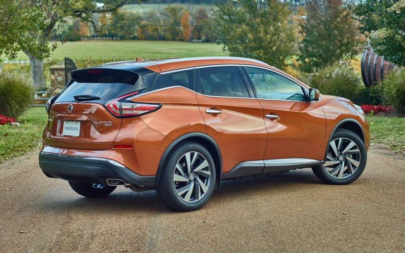 Comparison Nissan Murano Platinum 2017 Vs Kia