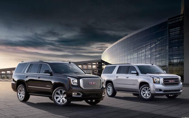 Comparison Gmc Yukon Xl Denali  Vs Ford Expedition El Platinum  Suv Drive