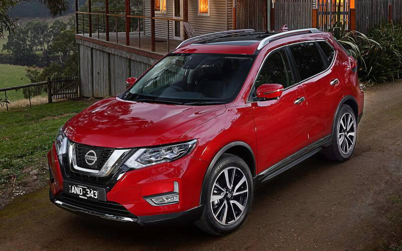 Comparison Nissan X Trail Ti  Vs Ford Edge Sport  Suv Drive