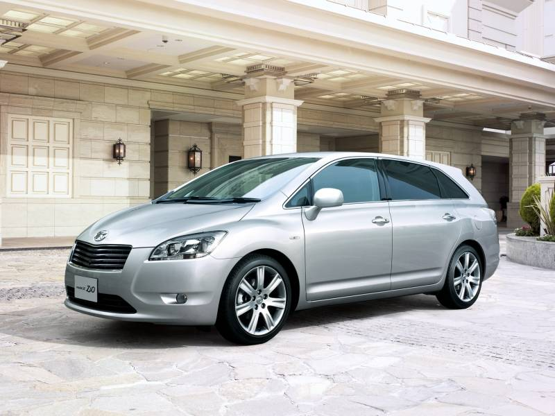 тест драйв toyota mark x zio