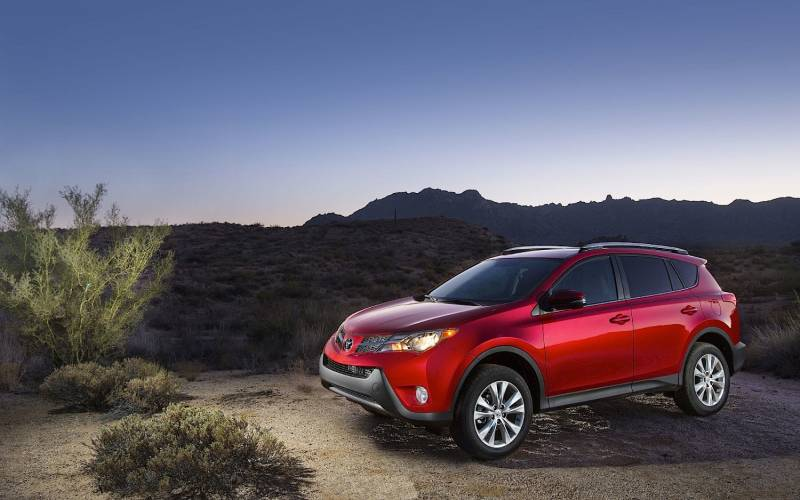 Comparison - Toyota RAV4 SUV 2015 - vs - Ford Edge Sport ...