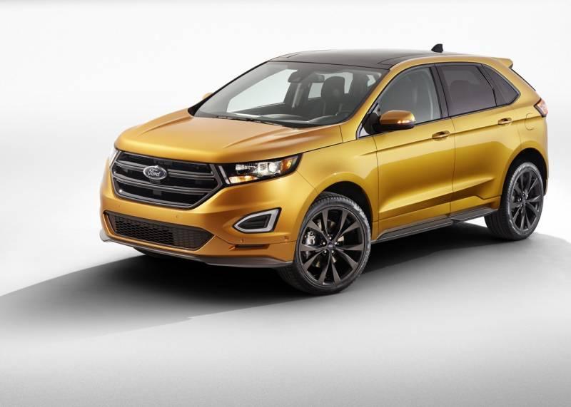 comparison ford edge sport 2016 vs land rover range rover sport suv 2015 suv drive. Black Bedroom Furniture Sets. Home Design Ideas