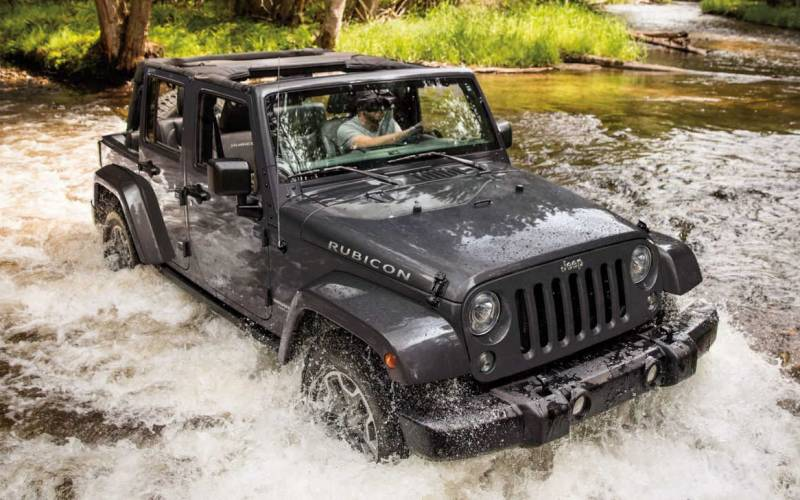 Jeep Wrangler Unlimited Rubicon Hard Rock Convertible 2017