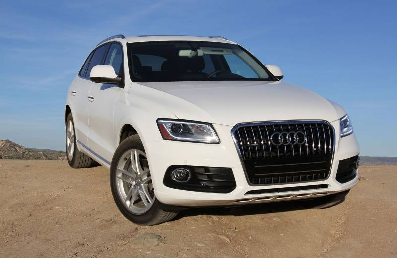 Comparison - Audi Q5 SUV 2015 - vs - Mazda CX-9 Grand ...