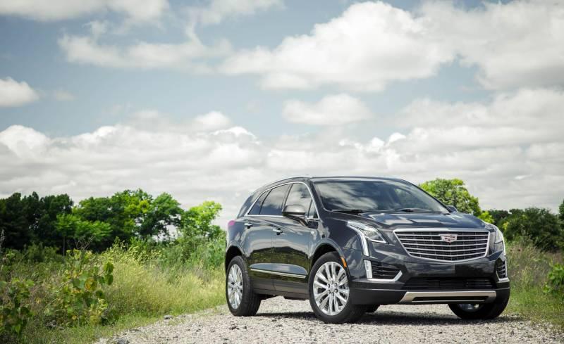 Comparison Cadillac Xt5 Luxury 2018 Vs Jeep Wrangler