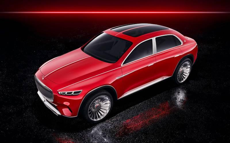 Comparison Mercedes Maybach Vision Ultimate Luxury Vs