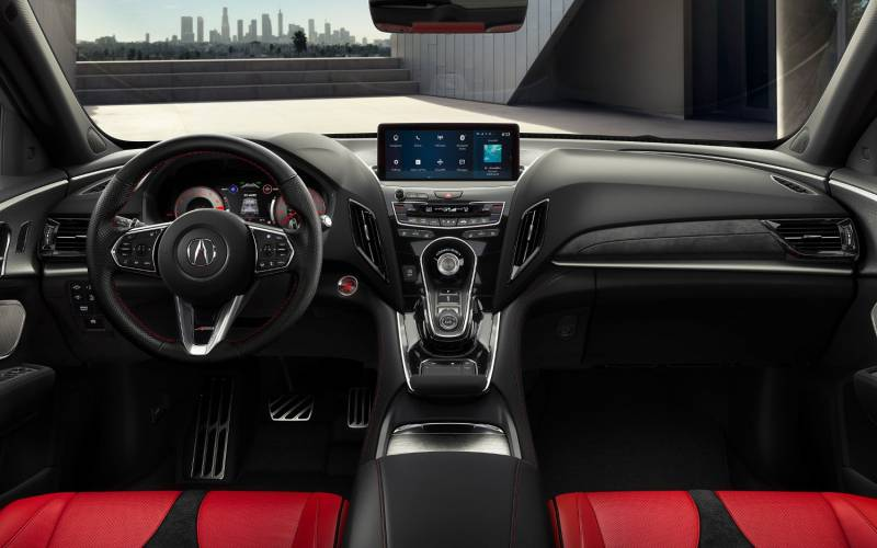 Interior Front Acura Rdx Technology