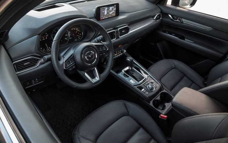 Mazda Cx 5 2017 Interior >> Comparison - Lincoln Nautilus Black Label 2019 - vs - Mazda CX-5 Grand Touring 2019 | SUV Drive