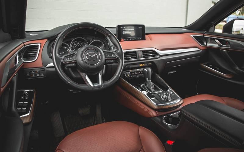 Comparison - Mazda CX-9 Grand Touring 2018 - vs - Nissan X ...