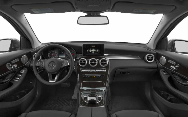 Comparison mercedes benz glc class glc300 4matic 2017 for Mercedes benz of santa fe