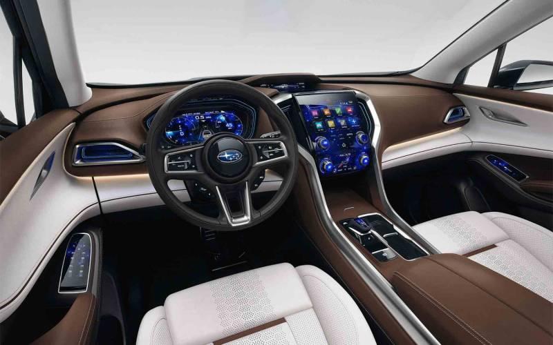 Comparison Subaru Viziv 7 Concept Ascent 2018 Vs Seat