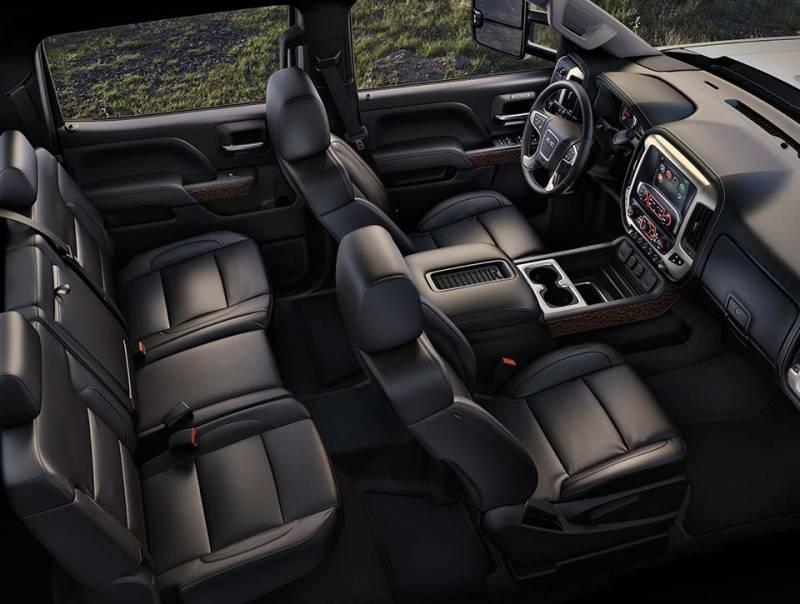 Comparison - GMC Sierra 3500HD Crew Cab SLT 2015 - vs ...