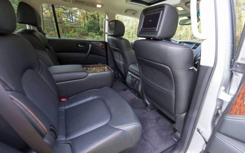 comparison subaru ascent premium   nissan armada platinum  suv drive
