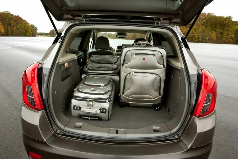 Comparison - Toyota RAV4 Limited 2016 - vs - Buick Encore ...
